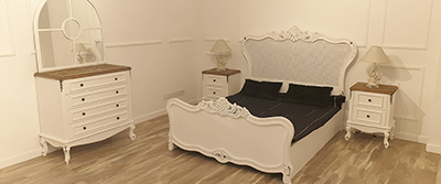 Butik Bedroom Set White