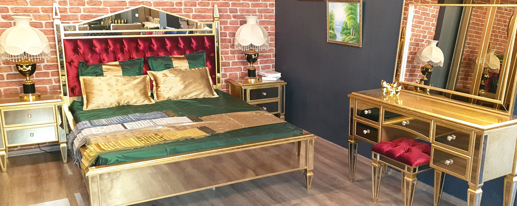 Artdeco Furniture   Saltanat Bedroom Set