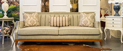 Art Deco Sectional Sofa